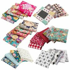 Sewing Printed Floral Cloths 5pcs Set Cottons Breathable Poplin Fabric Typed New