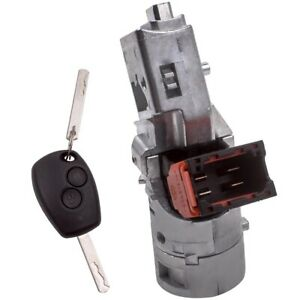Ignition Lock Barrel Switch for Renault Clio Modus Master Trafic Vauxhall