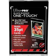 x1 ONE TOUCH BORDO NERO 35pt CARD HOLDER Proteggi Carte Magnetico Ultra pro MTG