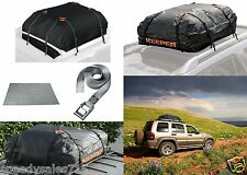 Keeper Cargo Bag, Roof Mat, Lashing Strap Bundle FOR USE WITHOUT ROOF RACKS NEW