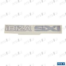 Pegatina adhesivo Seat Ibiza SXI