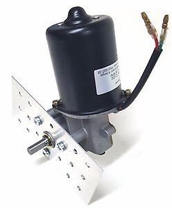 "Makermotor 3/8"" D Shaft Electric Gear Motor 12v 100 RPM Gearmotor Mount Bracket"