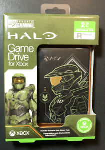 Seagate Game Drive 2TB for XBOX [ Halo Master Chief Limited Edition ] NEW
