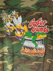 Vintage 1995 Homecoming CE Byrd Gator Hunt Gumbo Long Sleeve Shirt VTG 95 90s