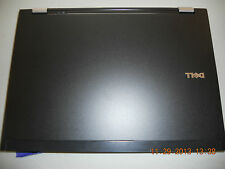 BLACK Vinyl Lid Skin Cover Decal fits Dell Latitude E6400 Laptop cover