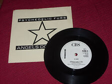 """Psychedelic Furs:  Angels Don't Cry   7""""    EX"""