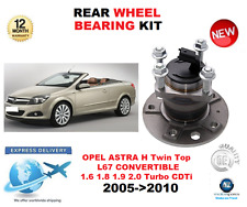 FOR OPEL ASTRA H REAR WHEEL BEARING 2005->2010 TWIN TOP CONVERTIBLE LHS or RHS