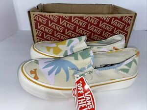 Vans Slip-On Surf Leila Hurst Abstract Sneakers Womens 7 Mens 5.5 Open box new