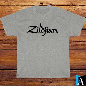 New Shirt Zildjian Logo Black/White/Grey/Navy T-Shirt S-5XL