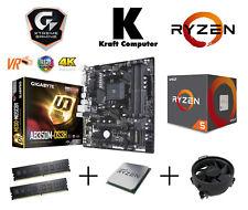 PC Bundle AufrüstKit Ryzen 5 1600 6x3,6GHz + Gigabyte AB350M DS3H + 8GB 2400MHz