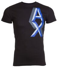Armani Exchange Mens S/S T-Shirt AN-09 Designer NAVY BLUE Casual M-XL $45