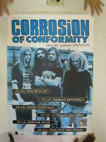 Corrosion Of Conformity Poster German Tour Band Shot COC C.O.C. C O C