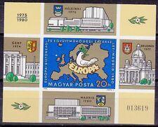 Ungarn 1980 Block 147 B ungezähnt ** KSZE Konferenz