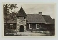 Postcard Real Photo Chapel an American Legion Mountain Camp Tupper Lake New York