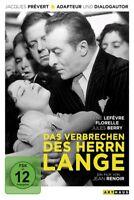 DAS VERBRECHEN DES HERRN LANGE/DIGITAL REM. - LEFEVRE,RENE/FLORELLE/+   DVD NEU
