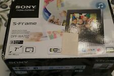 "Sony DPF-WA700 7"" electronic picture frame"