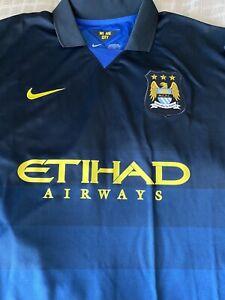 Nike Manchester City Jersey 2014/15 Away Sz. 3XL 100% Original With Tags