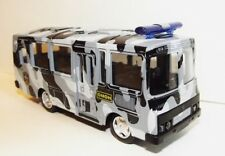 Russian SWAT police bus. PAZ-3205. Metal toy. 1/61 scale