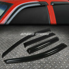 For 10-13 Mazda 3 Mps/S Smoke Tint Window Visor Shade/Sun Wind/Rain Deflector (Fits: Mazda)