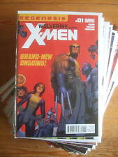 Wolverine and the X-Men #1 - 42 + 27AU + Annual #1 (1st Print) Marvel Now