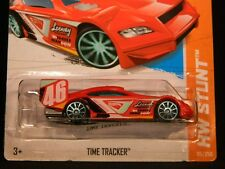 HW HOT WHEELS 2013 HW STUNT #95/250 TIME TRACKER HOTWHEELS RED (2 VARIATIONS)