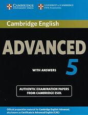 Cambridge English ADVANCED 5 with Answers CAE ESOL Examination @NEW, BOOK ONLY@