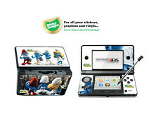 Smurfs Vinyl Skin Sticker for Nintendo 3DS