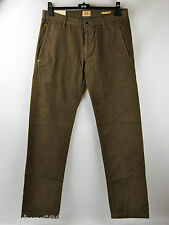 Hugo Boss ORANGE Pants Slacks Trousers SHIRE SELVAGE-D New Size 32R 100% cotton