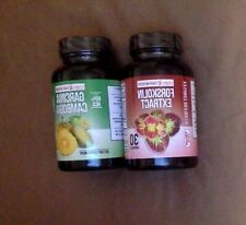 WEIGHT LOSS!!!! Garcinia Cambogia 60 capsules and Forskolin Extract 30 capsules