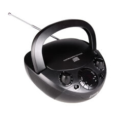 LASER CD BOOMBOX WITH AM/FM RADIO/Audio book/MP3/CD/AUX/Media Player
