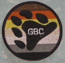 "GBC Patch - Göteborg Bear Club - Sweden -  2 5/8"" x 2 5/8"""