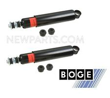 Land Rover Range Rover Pair Set of 2 Rear Shock Absorbers with mounting hardware