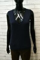 Maglione Donna TOMMY HILFIGER Taglia M Shirt Woman Cardigan Pullover CASHMERE