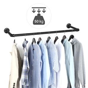Schwerlast Kleiderstange Garderobenstange Kleiderständer Garderobe Wandmontage