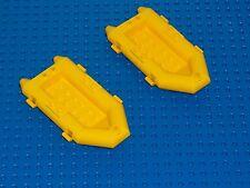 LEGO 2 x Schlauchboot 30086 gelb yellow Air Boad 1780 6479 6559 6560 6584 SBG
