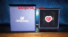 SWAROVSKI CRYSTAL PINK HEART SERENADE RING SIZE 7 (55) NEW IN BOX #1160554