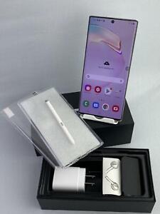 Samsung Galaxy Note 10 Plus 5G SM-N976V 256GB Aura White! Mint! For Verizon!