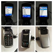 CELLULARE SAMSUNG SGH P910 GSM 3 LOCK BLOCCATO CON OPERATORE TRE