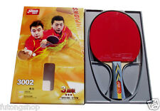 Table Tennis Racket DHS 3002 Paddle Ping Pong Bat Long Handle 3 Star US-2