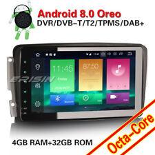 Acht-Kern Android 8.0 Autoradio Mercedes C/CLK Klasse W203 W209 Viano Vito DAB+