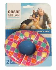 New listing Cesar Millan Crunch Ring Large Dog Chew Toy Medium Activity- *Free Shipping*