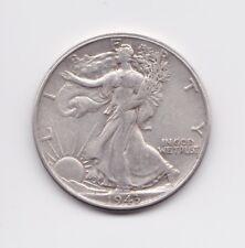 1943 Walking Liberty Half Dollar 50C 90% Silver US Coin FREE SHIPPING!!!