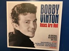 BOBBY. VINTON.           ROSES ARE RED.           TWO COMPACT DISC BOXSET