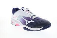 Mizuno WAVE превышает тур 3 переменного тока 61GA187114 женский фиолетовый спортивный теннисные туфли