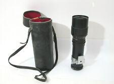 HTF Vtg Film Camera Lens Lentar 1=300mm f 1:5.6 M42 mount 35mm Film w/ Case