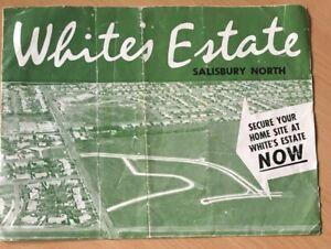 Real Estate Advertising Brochure Circe 1962 For Whites Estate