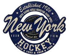 N.Y. Rangers JSA 6 Player Signed 15x18 Wood Sign Leetch Richter Graves Matteau +