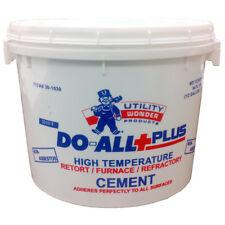 Durst 1/2 Gallon Do All Furnace Cement High Temperature Non Asbestos Air Bedding