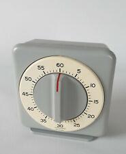 Junghans Industrie-Kurzzeitmesser 310/4160 Laboruhr Kurzzeitwecker grau aus 1969