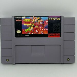 The Great Circus Mystery Mickey Minnie (Super Nintendo, 1994)